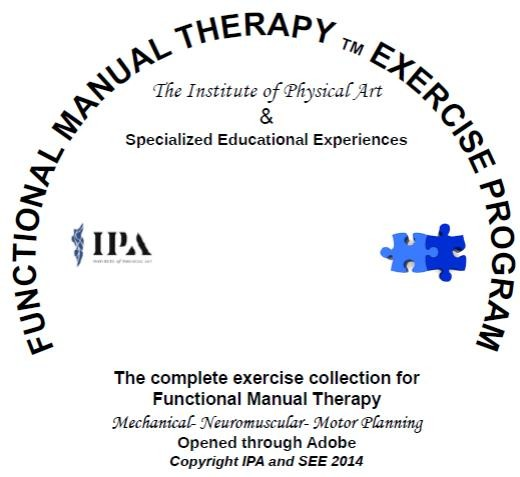 Functional Manual Therapy Exercise Program CD - Order at: SpecializedEducationalExp.com